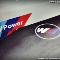 BMW M POWER LED 車門照地燈   F06 F12