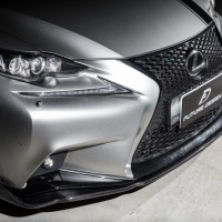 LEXUS IS300 SPORT  AIMGAIN 款 卡夢 CARBON 前下巴